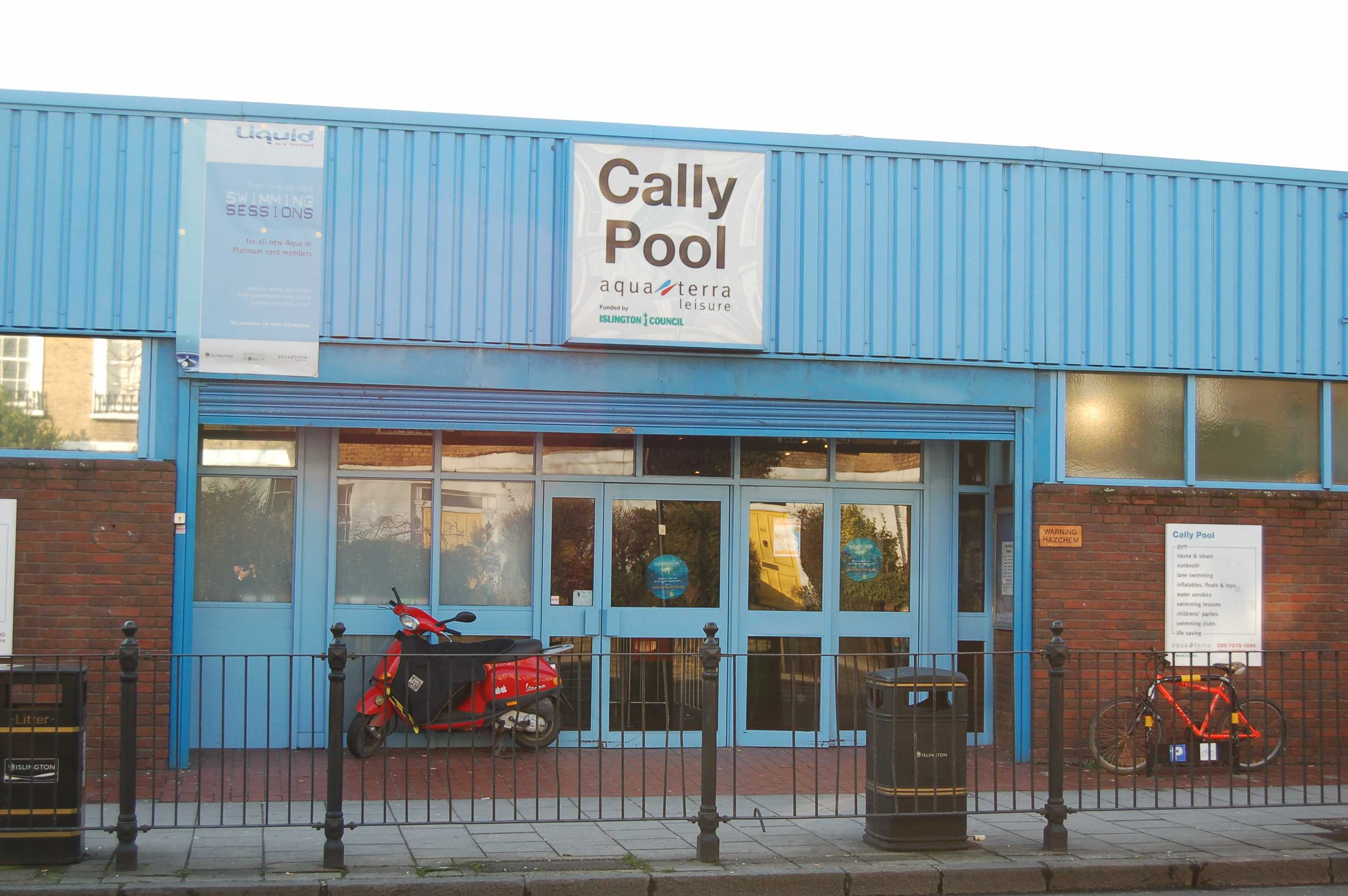 A 350 000 Facelift For Cally Pool Announced By Islington Council Labour Councillors