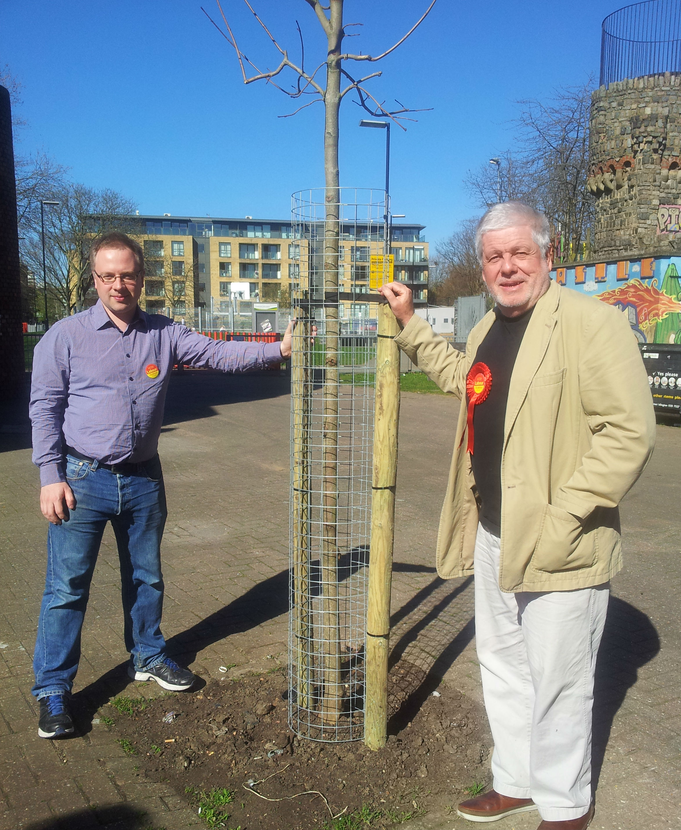 labour councillors representing caledonian ward in islington paul bingfield street tree 3 rupert and richard 20140316 131507 web
