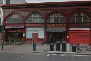Nearly 9,000 people every day use Caledonian Road underground station